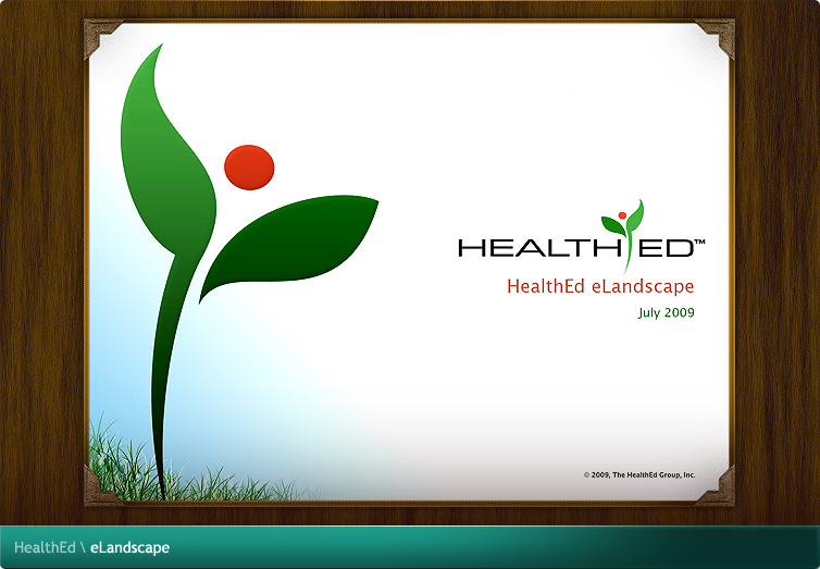 HealthEd eLandscape Flash Application