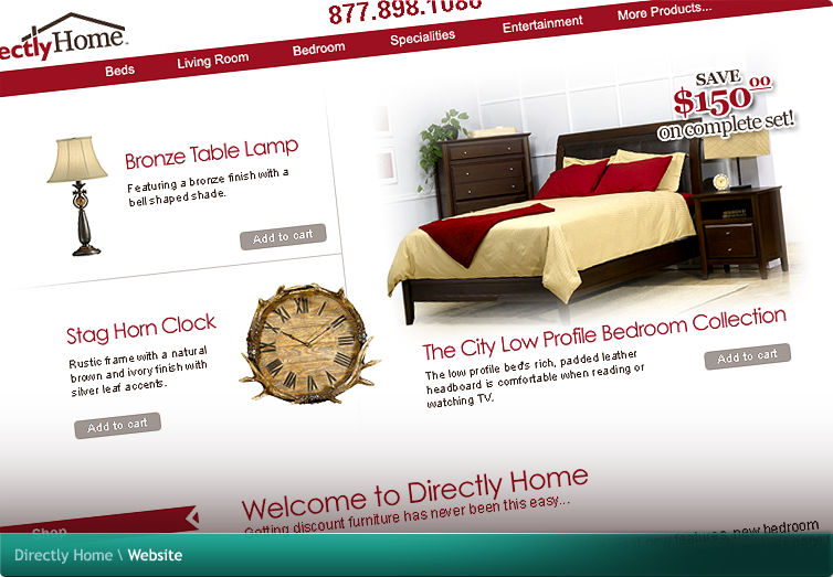 Directly Home Website